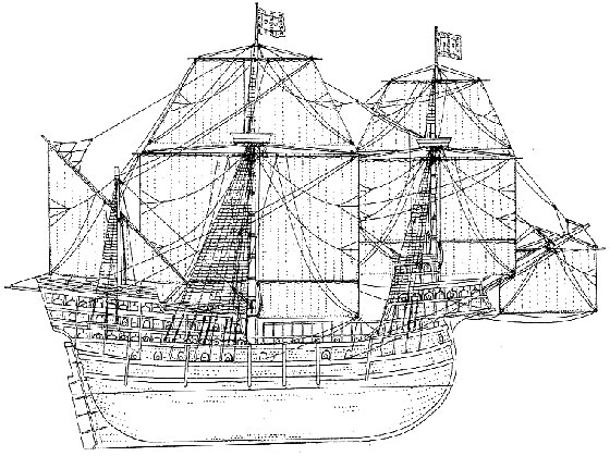 Carrack Joao da Nova 1502