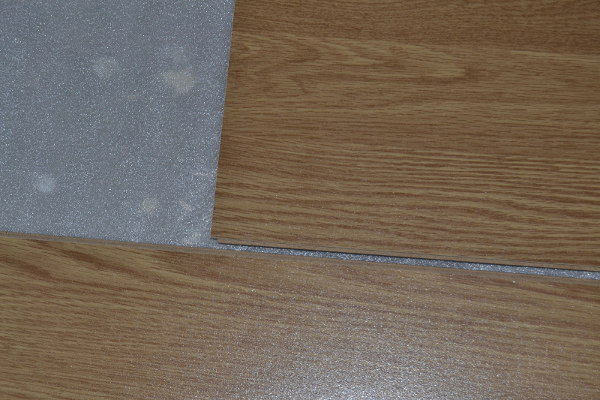 Laminate flooring: pieces