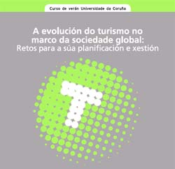 Cartel Curso de Ver�n: A evoluci�n do turismo