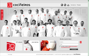 Captura Web Grupo Nove