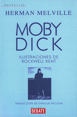 Moby Dick, personaxe de Melville