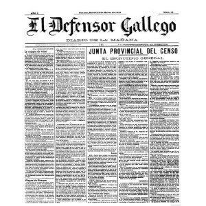 "Revista  "" El defensor Gallego "" de 1918"