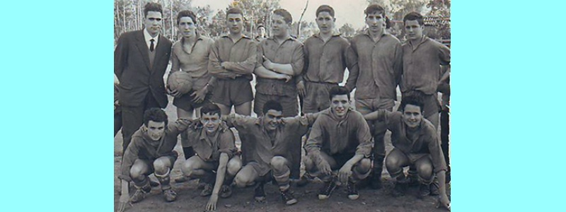 Campo do Berdillo, 1962